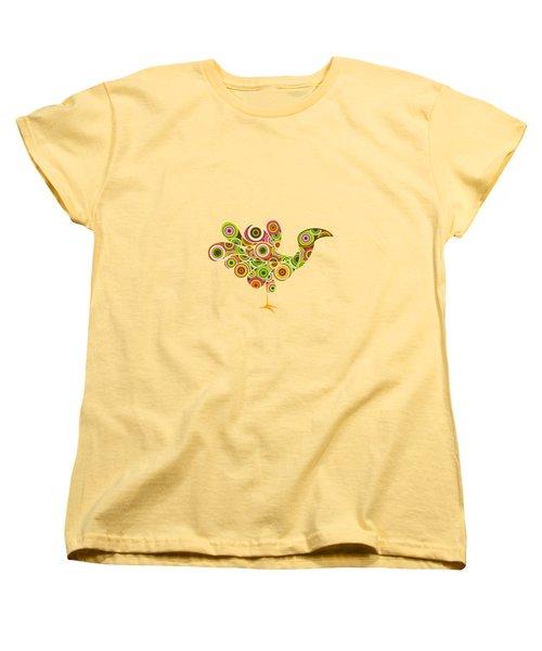 Peafowl Women's T-Shirt (Standard Cut) by BONB Creative