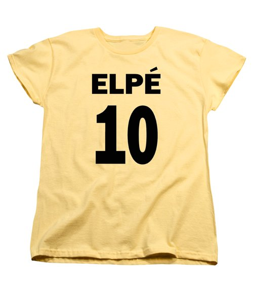 Pele 10 Women's T-Shirt (Standard Cut) by Charlie Ross