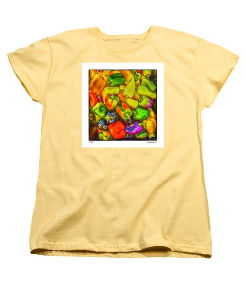 Peppers Women's T-Shirt (Standard Cut) by R Thomas Berner