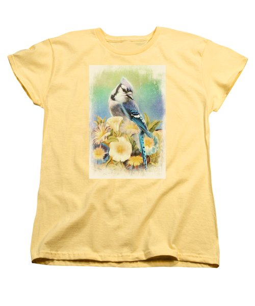 Perfectly Poised Women's T-Shirt (Standard Cut) by Tina LeCour