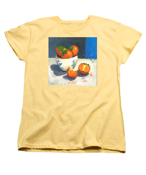 Persimmons Women's T-Shirt (Standard Cut) by Susan Thomas