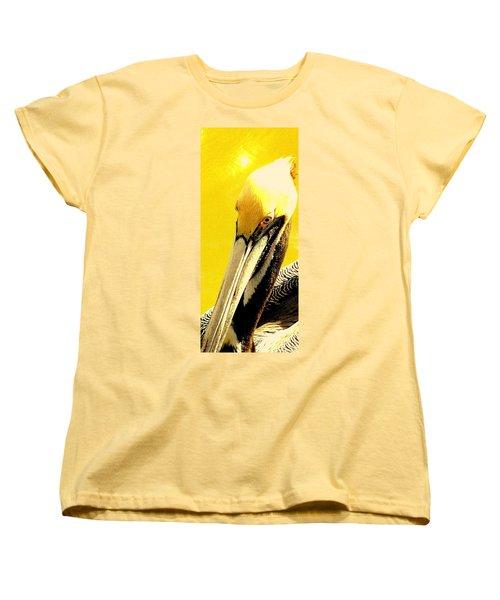 Women's T-Shirt (Standard Cut) featuring the photograph Peruvian Pelican by Antonia Citrino