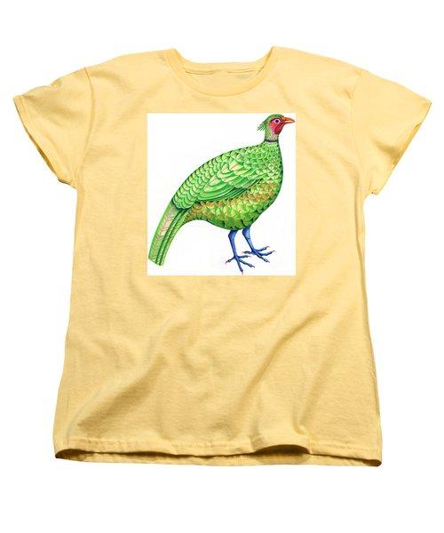 Pheasant Women's T-Shirt (Standard Cut) by Jane Tattersfield