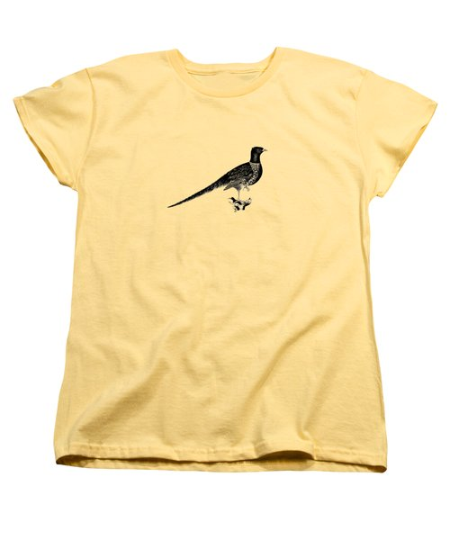 Pheasant Women's T-Shirt (Standard Cut) by Mark Rogan
