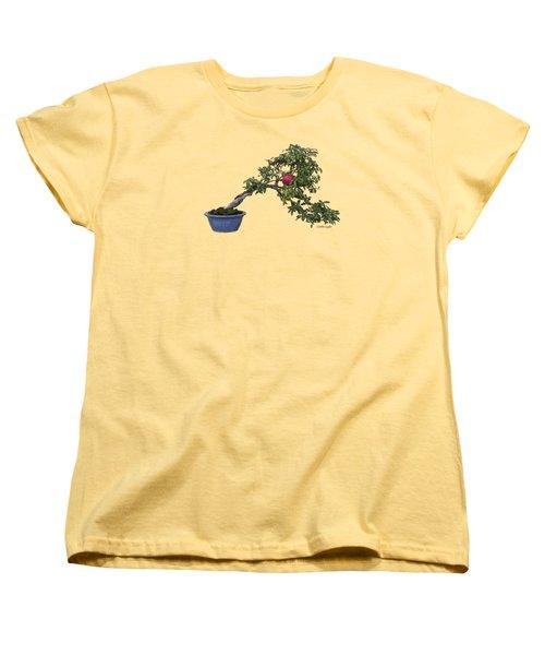 Pomegranate - Apparel Women's T-Shirt (Standard Cut) by Loretta Luglio