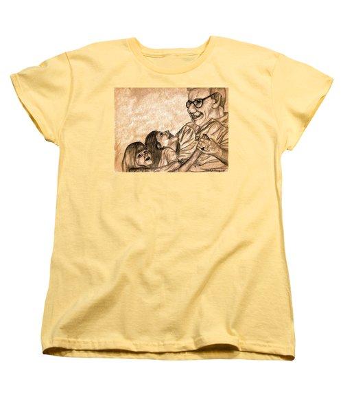 Pop And Us Women's T-Shirt (Standard Cut) by Angela Murray