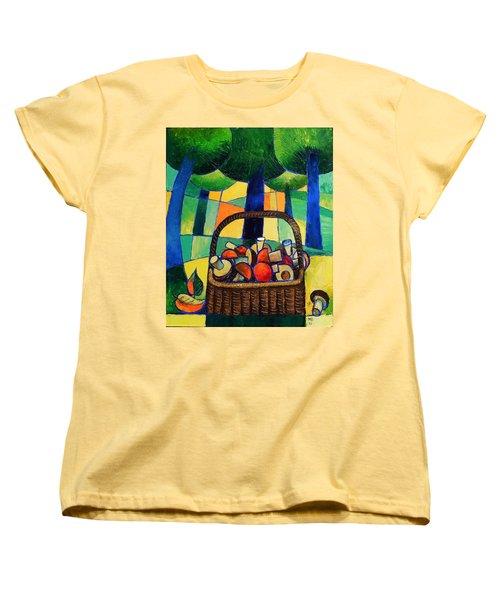 Porcini Women's T-Shirt (Standard Cut) by Mikhail Zarovny