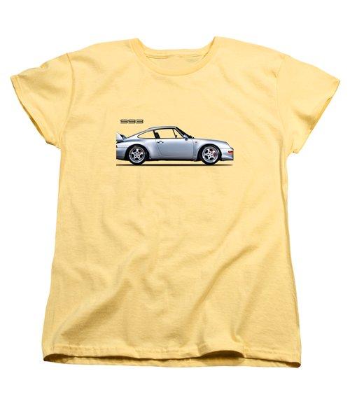 Porsche 993 Women's T-Shirt (Standard Cut) by Mark Rogan