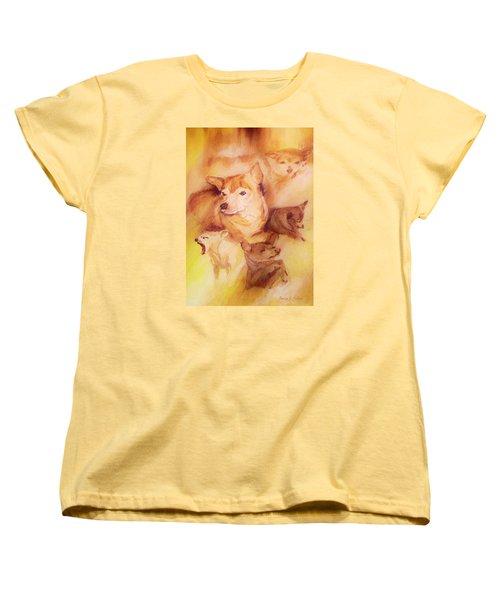 Portrait Of Chi Chi Women's T-Shirt (Standard Cut) by Denise Fulmer