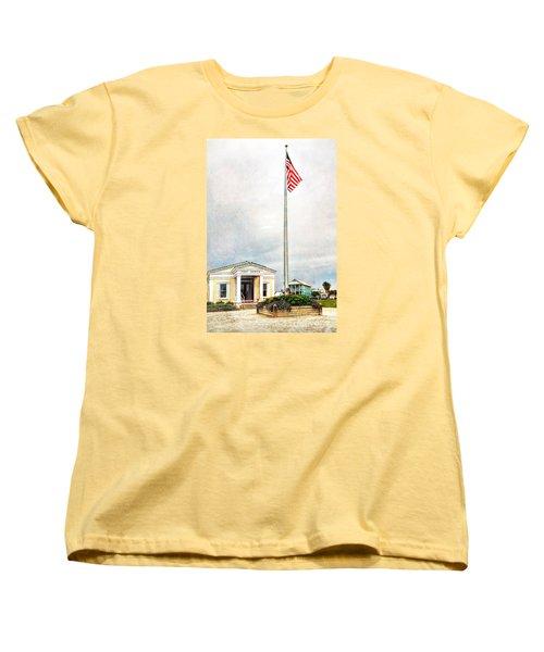 Post Office In Seaside Florida Women's T-Shirt (Standard Cut) by Vizual Studio