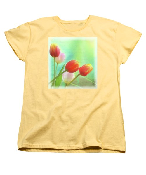 Postcards From The Edge Women's T-Shirt (Standard Cut) by Catherine Alfidi