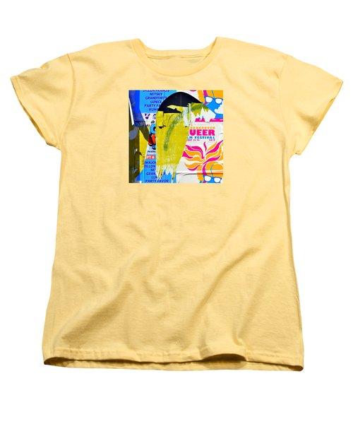 Poster Archaeology 30 Women's T-Shirt (Standard Cut) by David Gilbert