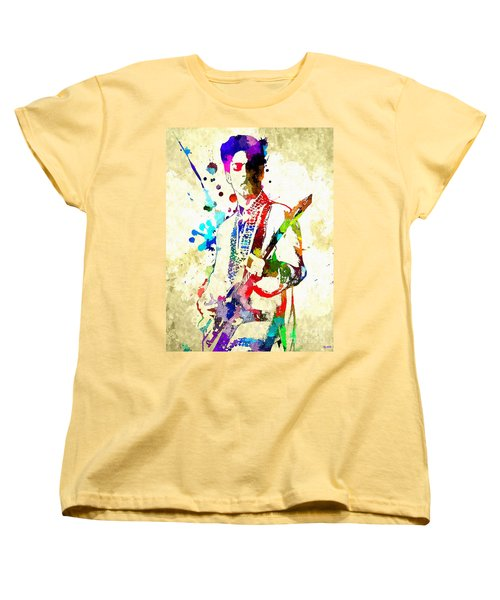 Prince In Concert Women's T-Shirt (Standard Cut)