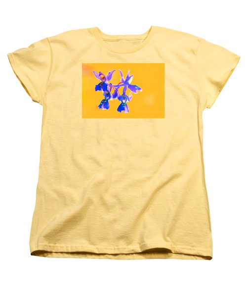 Orange Provence Orchid  Women's T-Shirt (Standard Cut) by Richard Patmore