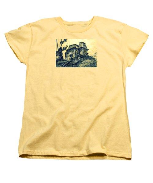 Psycho Women's T-Shirt (Standard Cut) by Salman Ravish