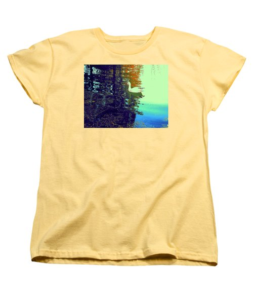 Quack Women's T-Shirt (Standard Cut) by Nancy Kane Chapman
