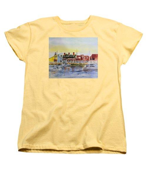 Queen Of The Shore Women's T-Shirt (Standard Cut) by Debbie Lewis