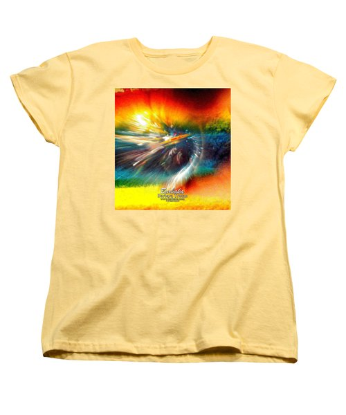 Women's T-Shirt (Standard Cut) featuring the photograph Rainbow Bliss #053329 by Barbara Tristan