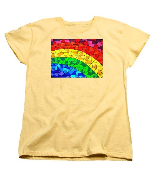 Rainbow ... Women's T-Shirt (Standard Cut) by Juergen Weiss