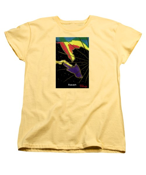 Raven Women's T-Shirt (Standard Cut) by Clarity Artists