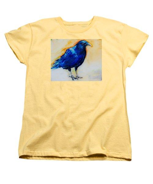Crow Women's T-Shirt (Standard Cut) by Jean Cormier