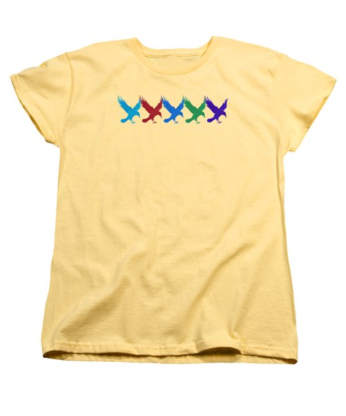 Ravens Apparel Design Women's T-Shirt (Standard Cut) by Teresa Ascone