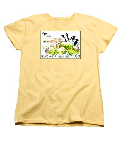 Razorbills Women's T-Shirt (Standard Cut) by Lanjee Chee