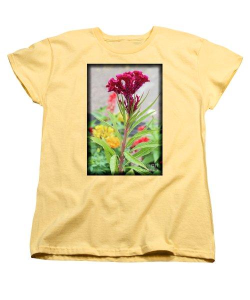 Red Fusion Women's T-Shirt (Standard Cut)