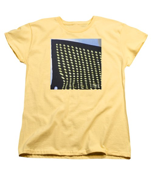 Women's T-Shirt (Standard Cut) featuring the photograph Reflection On 42nd Street 3 by Sarah Loft