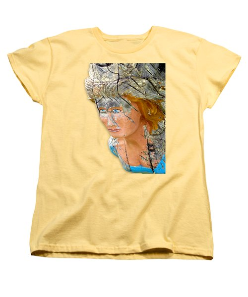 Regina Figurehead Women's T-Shirt (Standard Cut) by Bob Slitzan