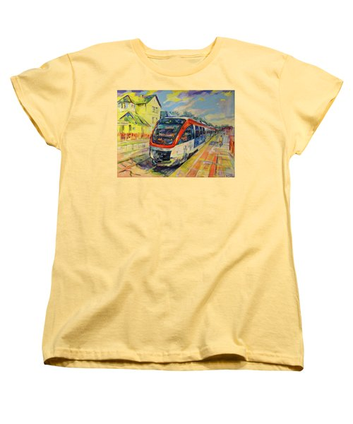 Regiobahn Mettmann Women's T-Shirt (Standard Cut) by Koro Arandia