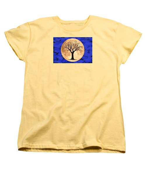 Women's T-Shirt (Standard Cut) featuring the painting Rejuvenation by Patricia Arroyo