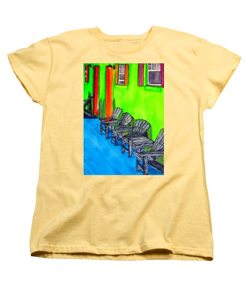 Relax Women's T-Shirt (Standard Cut) by Lil Taylor