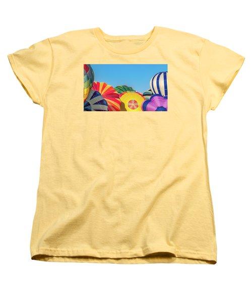Women's T-Shirt (Standard Cut) featuring the photograph Reno Balloon Races by Bill Gallagher