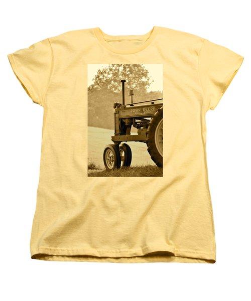 Resting In Sepia Women's T-Shirt (Standard Cut) by JD Grimes