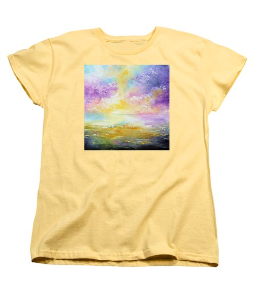 Rising Joy Women's T-Shirt (Standard Cut) by Meaghan Troup