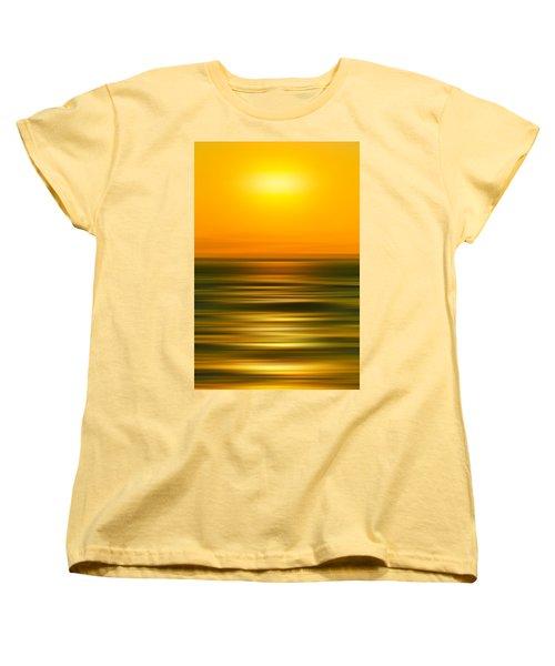 Rising Sun Women's T-Shirt (Standard Cut) by Az Jackson