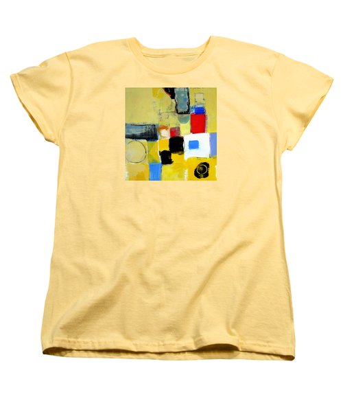 Women's T-Shirt (Standard Cut) featuring the painting Ron The Rep by Cliff Spohn