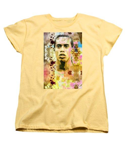 Ronaldinho Gaucho Women's T-Shirt (Standard Cut) by Svelby Art