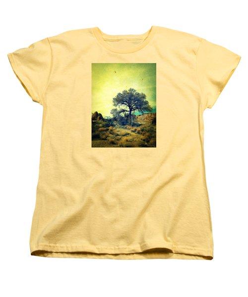 Women's T-Shirt (Standard Cut) featuring the photograph Rough Terrain by Glenn McCarthy Art and Photography