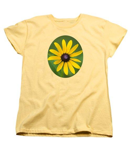 Rudbeckia Flower Women's T-Shirt (Standard Cut) by Christina Rollo