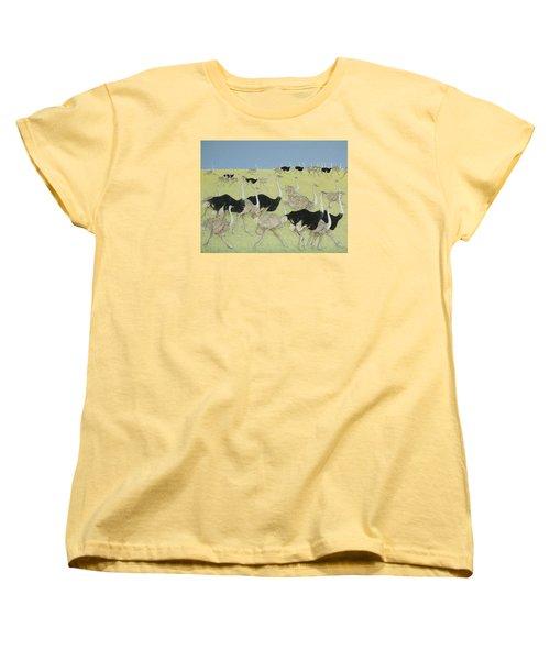 Rush Hour Women's T-Shirt (Standard Cut) by Pat Scott