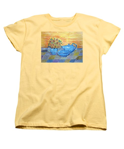 Russel Wright China  Women's T-Shirt (Standard Cut) by Kathy Marrs Chandler