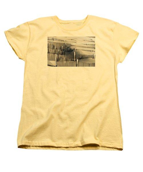 Sand Dunes Of The Outer Banks Women's T-Shirt (Standard Cut)
