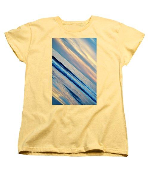 Women's T-Shirt (Standard Cut) featuring the photograph Santa Monica Sunset by Kyle Hanson