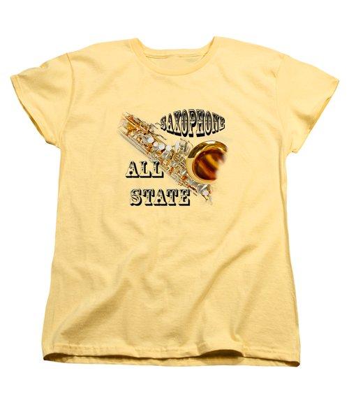 Saxophone All State Women's T-Shirt (Standard Cut)