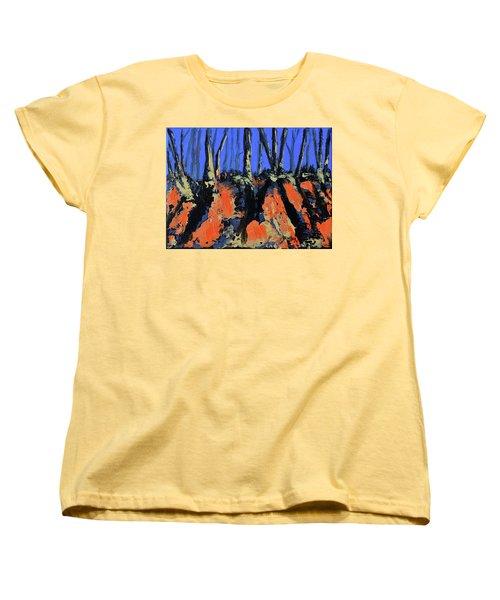 September's Symphony Women's T-Shirt (Standard Cut) by Donna Blackhall