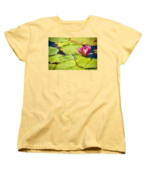 Serenity And Solitude Women's T-Shirt (Standard Cut) by Peggy Hughes
