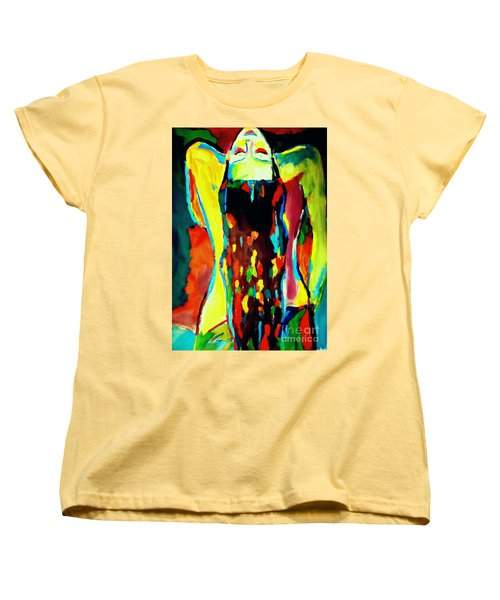 Women's T-Shirt (Standard Cut) featuring the painting Serenity by Helena Wierzbicki