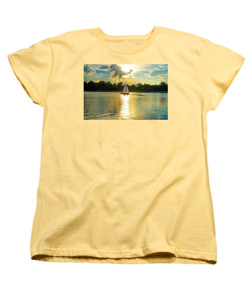Serenity  Women's T-Shirt (Standard Cut) by Mary Ward